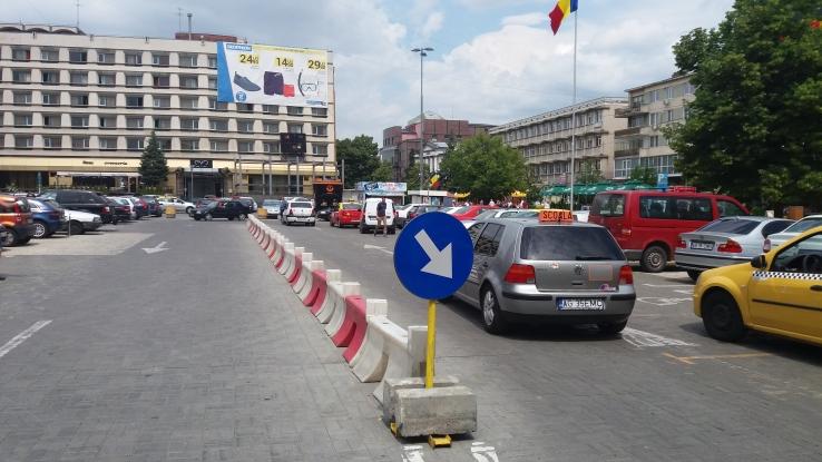 Parcarea de la Muntenia, tot în litigiu
