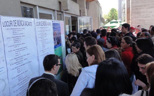 1.594 de şomeri în Piteşti