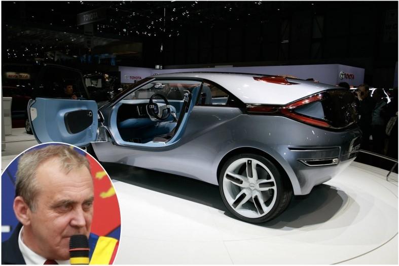 Georgescu e mândru de Dacia