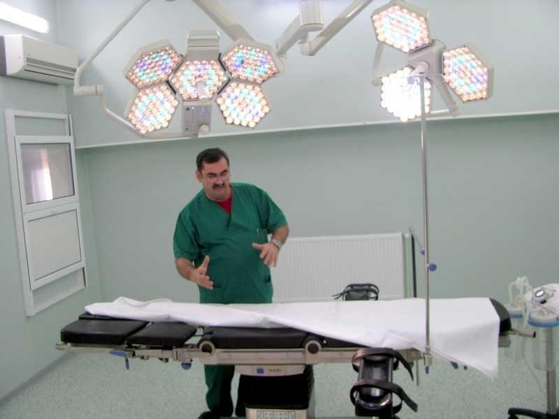 Patru săli de operaţie de la Spitalul Judeţean, reabilitate