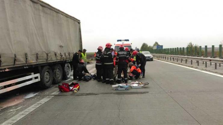 Accident grav de circulaţie în Piteşti