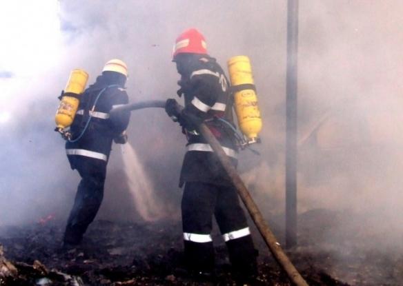 Incendiu la o brutărie din Trivale