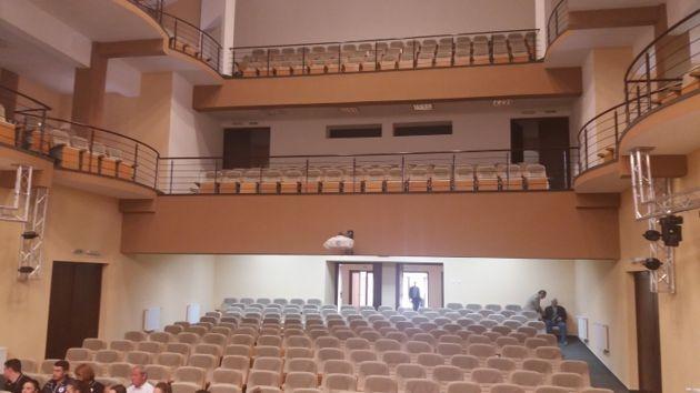 Filarmonica Piteşti face spectacol în fostul Cinematograf Bucureşti