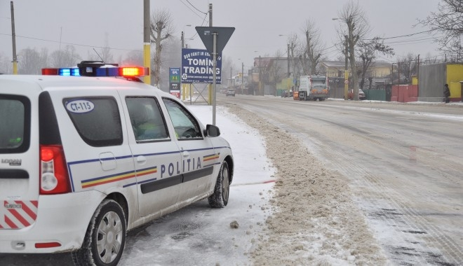Sancţiuni aplicate de poliţiştii rutieri