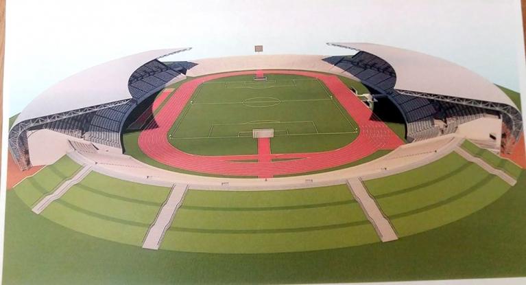 Stadionul Trivale va avea două tribune acoperite