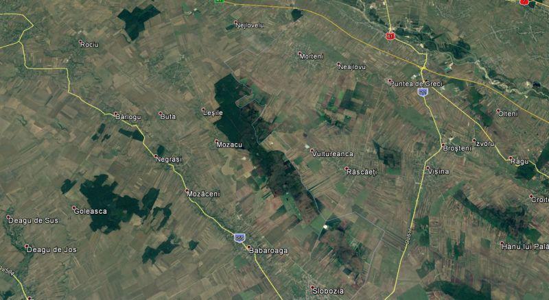 Drumurile sudului, legate de autostradă