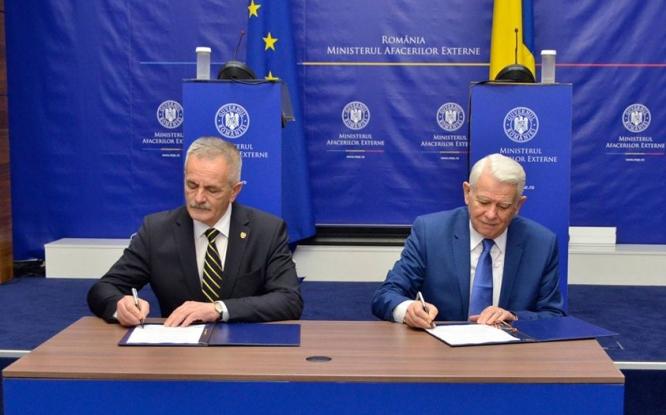 Valeca şi Meleşcanu au semnat un protocol de colaborare