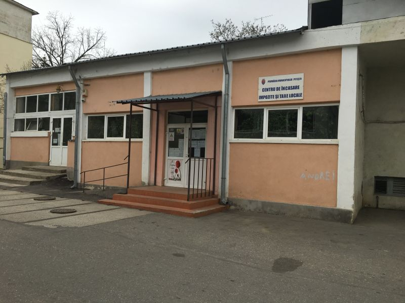 Centrul de încasări din Trivale, închis temporar
