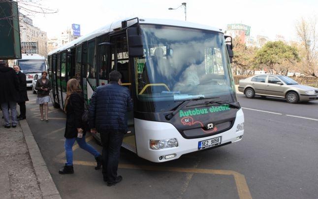 Gratis cu autobuzul electric. Vezi care sunt traseele!
