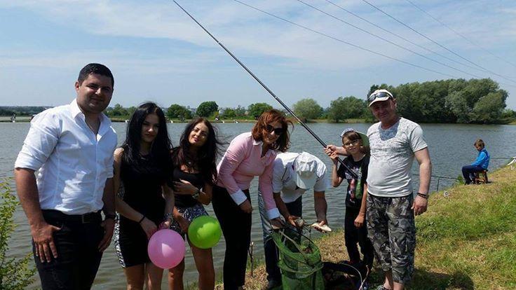 Concurs de pescuit pentru copii la Ştefăneşti