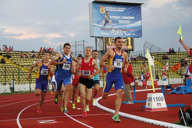 Un nou campionat balcanic de atletism în Piteşti