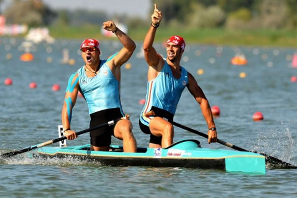 Pregătiri pentru Campionatul Mondial de Kaiac-Canoe Juniori din Argeş