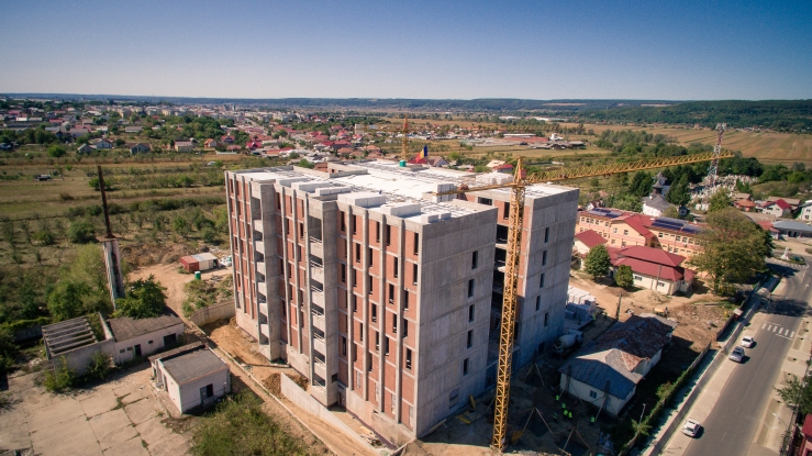 Spitalul din Mioveni, cea mai sigură clădire din sudul României