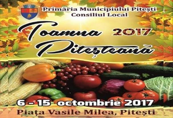 Toamna Piteşteană, asezonată cu spectacole pentru toate gusturile
