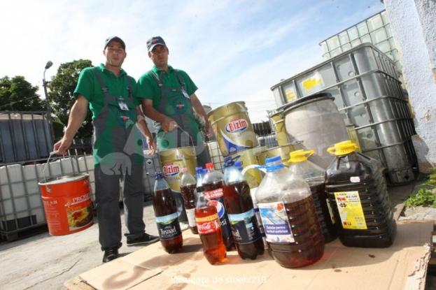 Campania pentru colectarea uleiului uzat, în şcolile din Mioveni