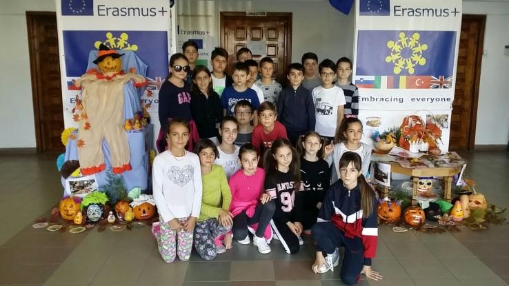 Bostaniada, proiectul toamnei la Şcoala Ion Pillat