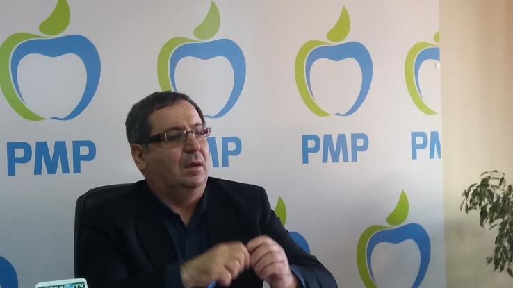 Cătălin Bulf, reconfirmat preşedinte al PMP