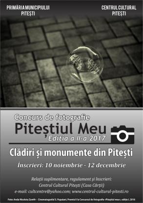 Centrul Cultural Piteşti organizează un concurs de fotografie