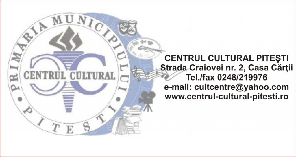Centrul Cultural Pitești organizează în perioada 3-10 octombrie următoarele evenimente cultural-educative