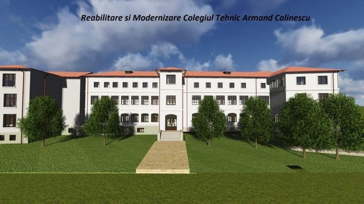 Contract pentru modernizarea Colegiului Tehnic Armand Călinescu