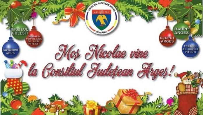 Moș Nicolae vine la Consiliul Județean
