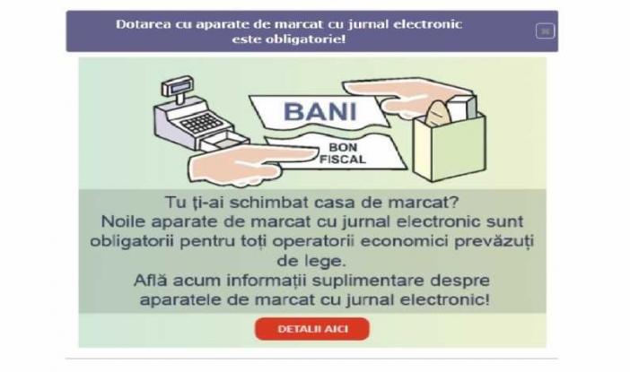 Costul caselor de marcat cu jurnal electronic va putea fi dedus din impozit