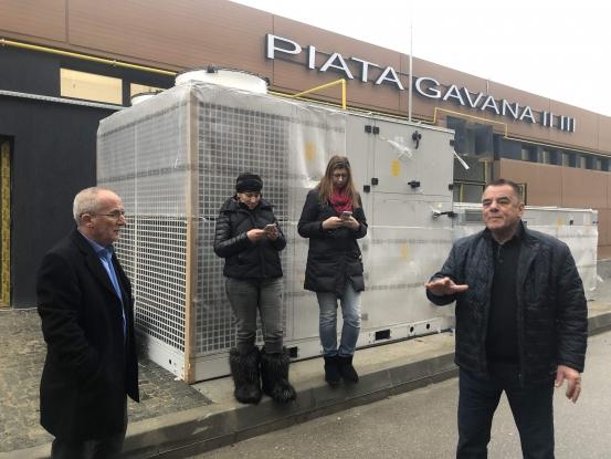 Piaţa Găvana va fi dată în folosinţă săptămâna viitoare, susţin autorităţile şi constructorul