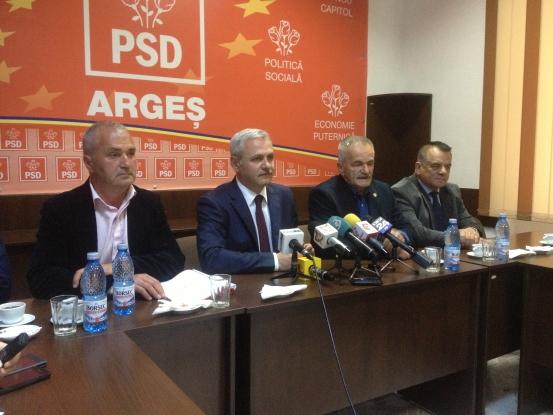 Dragnea promite că Piteştiul va fi capitală de regiune
