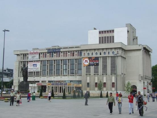 De la Ovdiu, la Mihai Eminescu - spectacol nou la Teatrul Davila