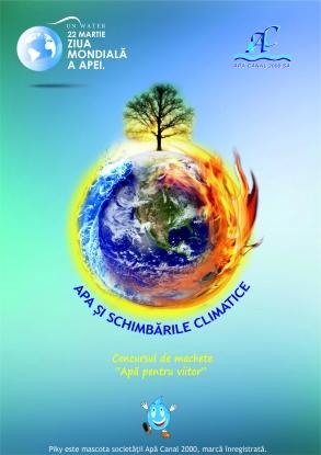 Apă pentru viitor - Viziune şi creativitate de  Ziua Mondială a Apei