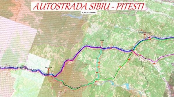 Autostrada Sibiu - Pitești: Au început oficial lucrările la secțiunea 1 Sibiu - Boița