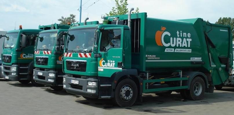 S.C. Salubritate 2000 S.A. a început acțiuni de dezinfecție la platformele de gunoi