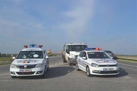 Peste 500 de oameni din forțele de ordine argeșene, mobilizate pentru Paști