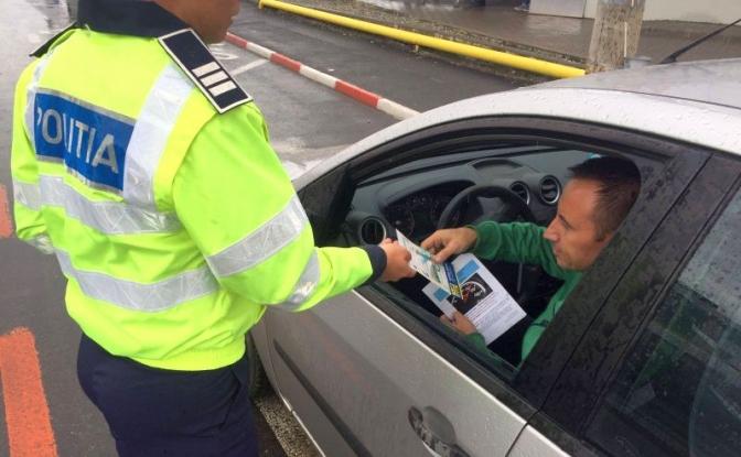 34 de șoferi din Argeș, amendați