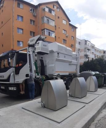 Contract pentru containere îngropate de gunoi