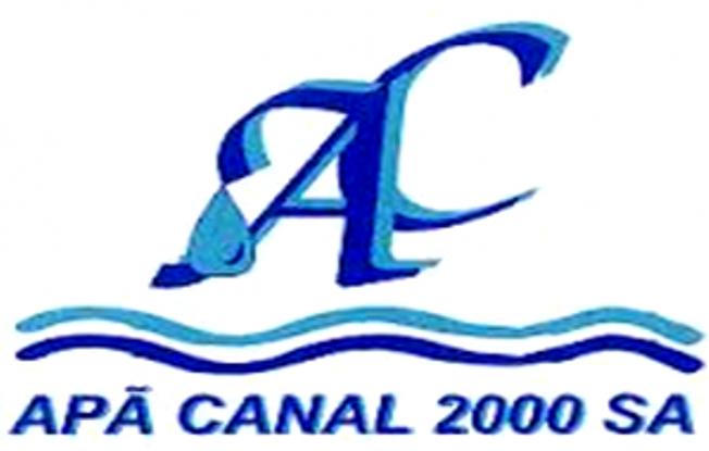 Apă Canal 2000 SA anunță sistarea furnizării apei potabile în Bradu