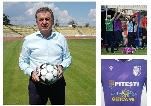 Gentea, anunț privind prima sponsorizare importantă pentru FC Argeș