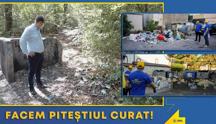 Sorin Apostoliceanu: În primele două luni la Primăria Pitești, mă mut la Salubritate! Trebuie să rezolvăm problema gunoiului!