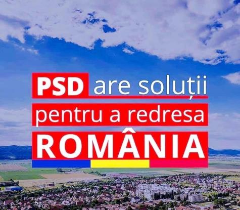 PSD are soluții pentru a redresa România!
