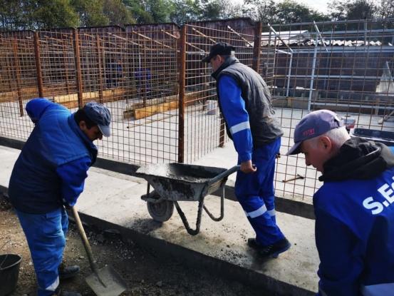 Noi spații pentru câinii fără stăpân la Mioveni