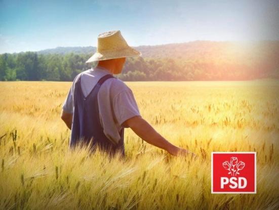 Agricultura, prioritară pentru PSD