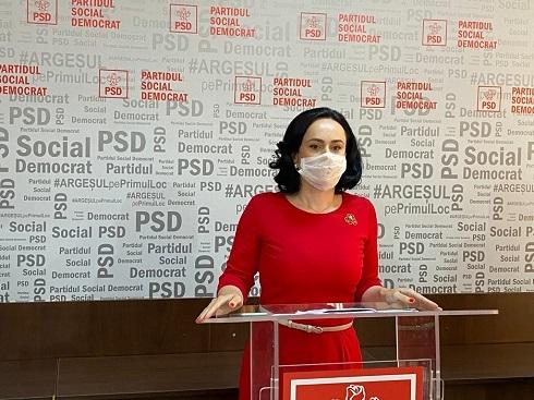 Simona Bucura Oprescu: Ținta PSD este reangajarea șomerilor și crearea a peste 500.000 de noi locuri de muncă