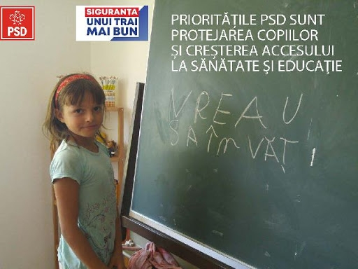 Programul de guvernare al PSD pentru Educație
