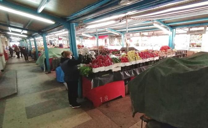 Piața din Mioveni a fost reorganizată
