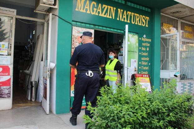 216 sancţiuni, în valoare de 42.700 de lei, au fost aplicate ca urmare a nerespectării măsurilor de protecţie individuală