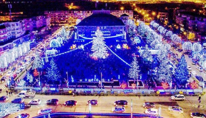 Pe 1 decembrie se aprinde iluminatul festiv la Mioveni