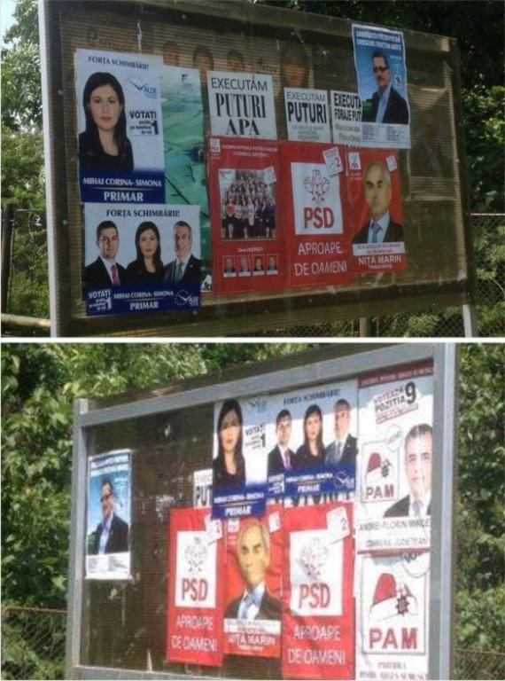 La Miroşi se încalcă Legea Electorală