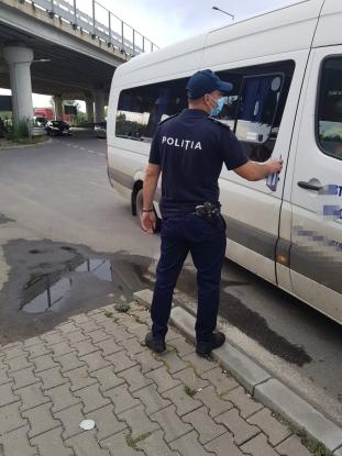 Peste 2.500 de persoane, aproape 150 de obiective și aproape 350 de autovehicule au fost verificate de poliţişti în ultimele 24 de ore