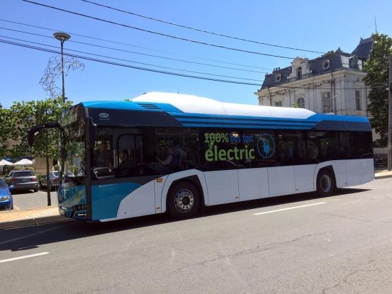 Piteştiul va beneficia de primele 40 de autobuze electrice