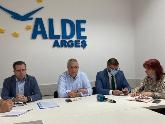 Delegaţia Permanentă a ALDE a decis convocarea Congresului Extraordinar pentru întreruperea procesului de fuziune cu PRO România